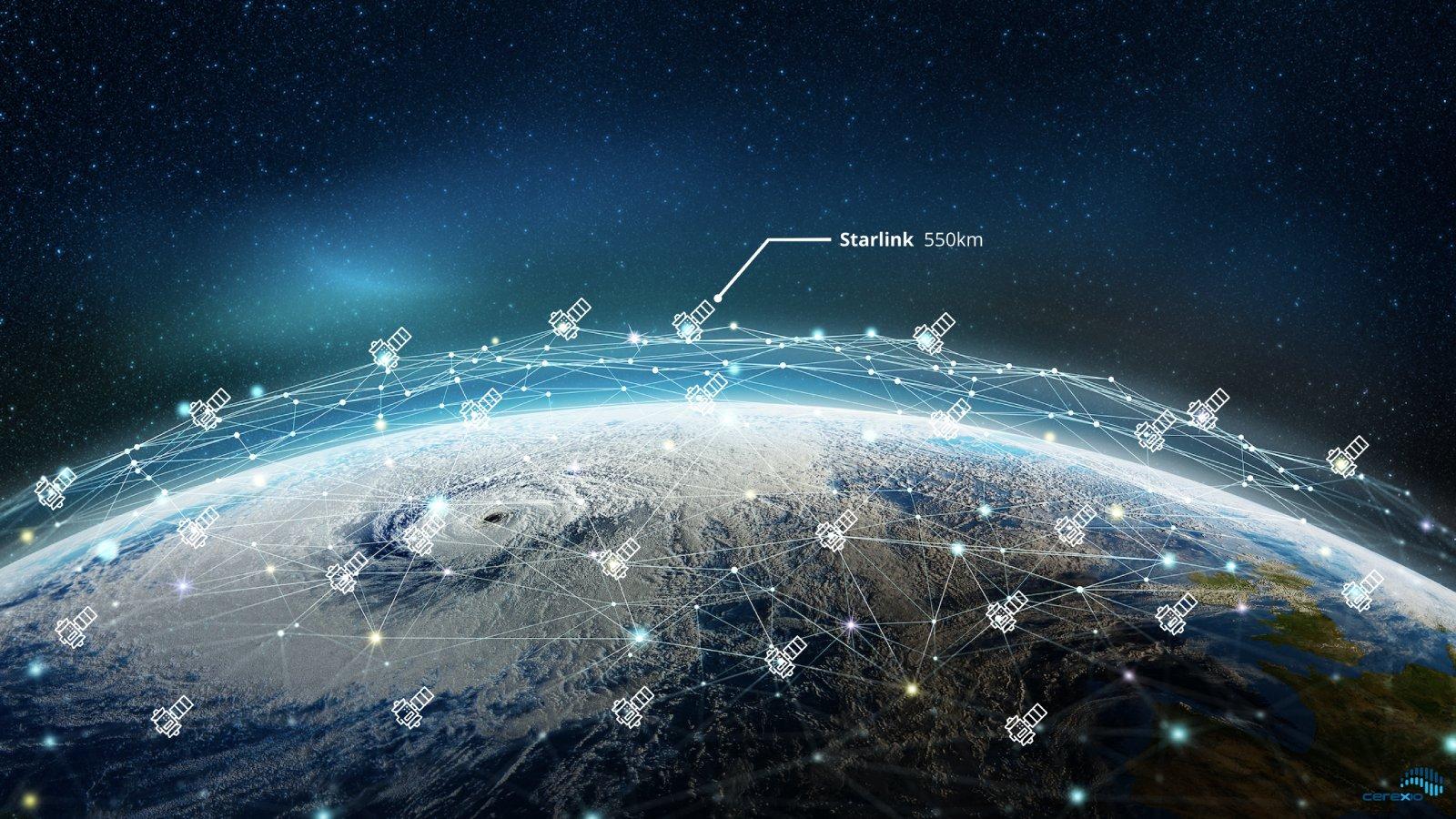 SpaceX starlink high speed internet