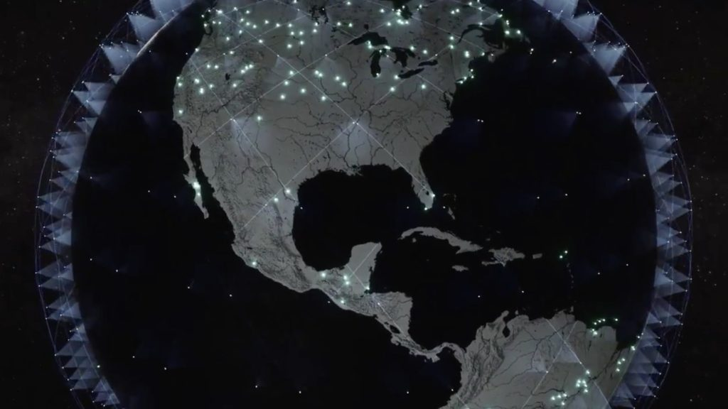 SpaceX Starlink Coverage Area